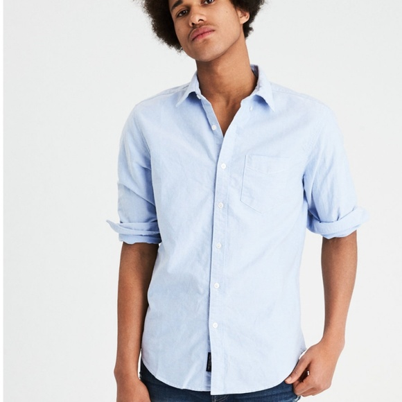 35946a01 American Eagle Outfitters Shirts   Ae Long Sleeve Oxford Button Down ...